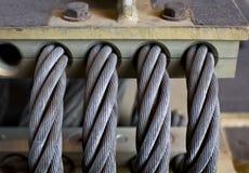 Heavy cables Stock Photos