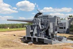Heavy cannon Stock Photo
