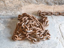 Heavy Chains At Museum In Cuba Stock Images