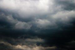 Heavy cloud. Nature series: heavy gray storm rain cloud Stock Photos
