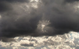 Heavy cloud Stock Photography