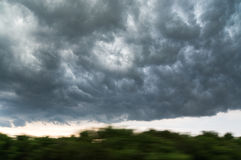 Heavy clouds Stock Image