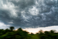 Heavy clouds Royalty Free Stock Photos