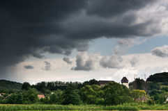 Heavy clouds Royalty Free Stock Photography