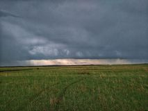 Heavy clouds stock images
