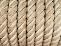 Heavy Coiled Rope Background Royalty Free Stock Photography
