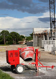 Heavy Concrete Mixer Stock Images