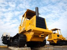 Heavy Construction Equipment Stock Photography