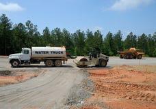 Heavy construction equipment Stock Image