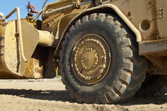 Heavy Construction Equipment. Heavy equipment at a residential construction site Royalty Free Stock Photo