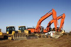 Heavy Construction Equipment Royalty Free Stock Photography