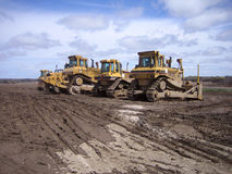 Heavy construction equipment Royalty Free Stock Photo