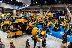Heavy construction equipment display at Con Expo Stock Photo