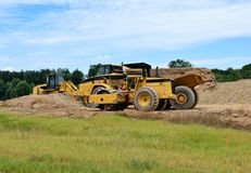 Heavy Construction Equipment  Royalty Free Stock Photo