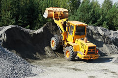 Heavy construction loader Royalty Free Stock Photography