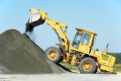 Heavy construction loader Royalty Free Stock Photos
