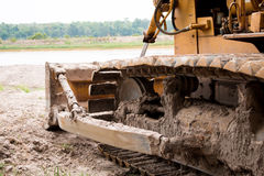 Heavy construction machine Royalty Free Stock Image