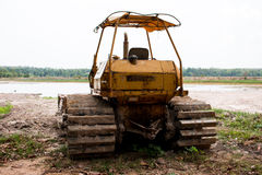 Heavy construction machine Stock Images
