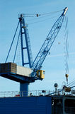 Heavy crane stock image