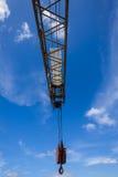 Heavy Crane Arm Hook   Stock Photos
