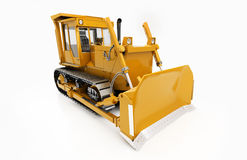 Heavy crawler bulldozer Royalty Free Stock Photos
