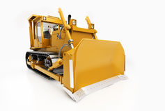 Heavy crawler bulldozer Stock Photography
