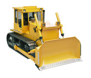 Heavy crawler bulldozer  isolated Royalty Free Stock Photo