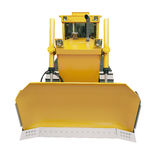 Heavy crawler bulldozer  isolated Stock Photography