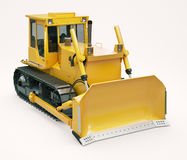 Heavy crawler bulldozer Stock Image