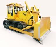Heavy crawler bulldozer Stock Image