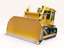 Heavy crawler bulldozer Stock Images
