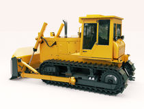 Heavy crawler bulldozer Royalty Free Stock Photo