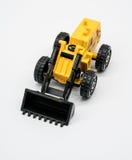 Heavy crawler toy bulldozer Royalty Free Stock Photo