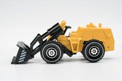Heavy crawler toy bulldozer Stock Image
