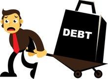 Heavy Debt Royalty Free Stock Photo