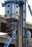 Heavy driller machine Stock Image