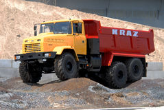 Heavy dump truck Stock Images