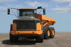 Heavy dump truck Royalty Free Stock Images