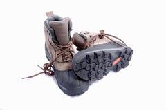 Heavy duty boots Stock Photo