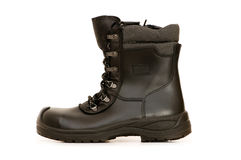 Heavy duty boots isolated Royalty Free Stock Photos