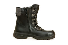 Heavy duty boots isolated Stock Images