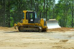 Heavy duty bulldozer Royalty Free Stock Image