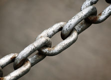 Heavy duty chain Royalty Free Stock Photography