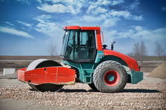 Heavy Duty Construction Equipment Royalty Free Stock Images