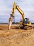 Heavy duty construction equipment royalty free stock photos