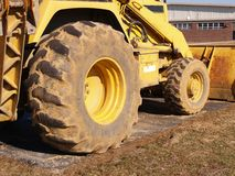 Heavy duty construction equipment Stock Image
