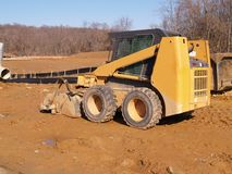 Heavy duty construction equipment Stock Photography