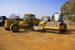 Heavy Duty Construction Equipment Stock Photo