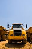 Heavy duty construction truck Stock Photos
