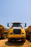Heavy duty construction truck stock photos